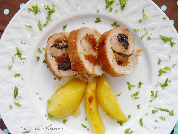 Stuffed Pork Tenderloin