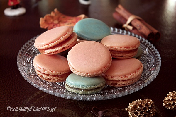 Greek Style Macarons