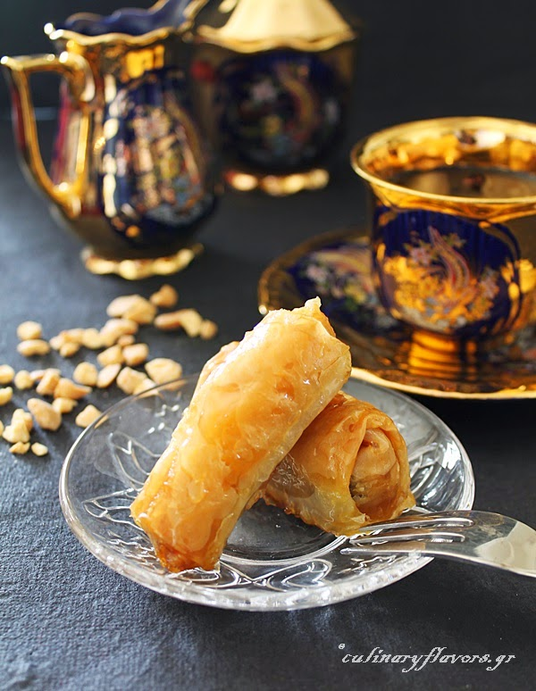 Phylo Rolls with Fruit Preserves