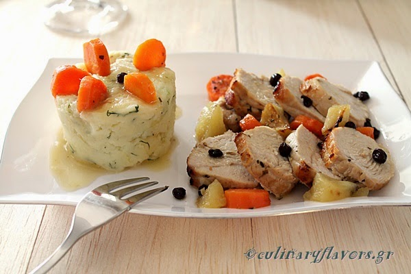 Turkey with Korinthian Raisins 1a