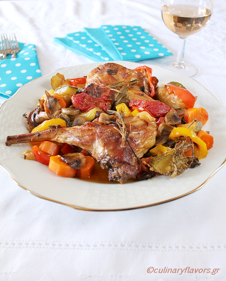 rabbit-with-vegetables