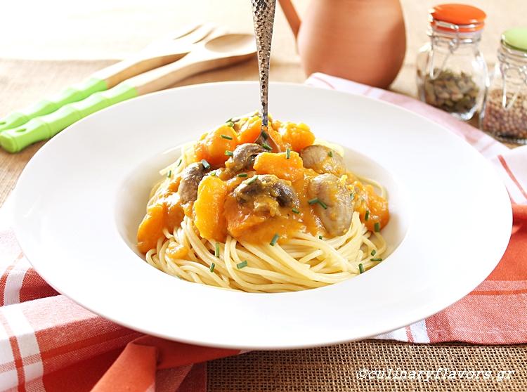 squash-and-mushroom-spaghetti