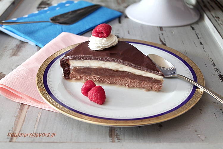 Triple Chocolate and Chestnut Torte