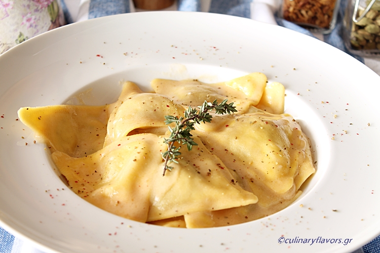 Sweet Wine Stuffed Ravioli