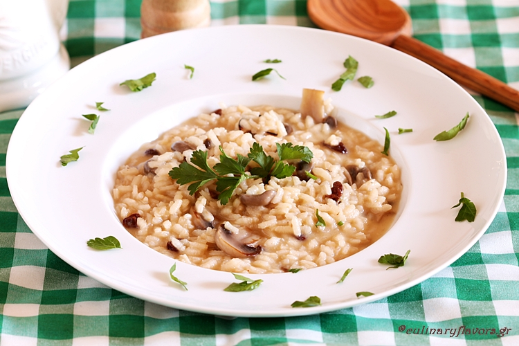 Cantharelles Risotto