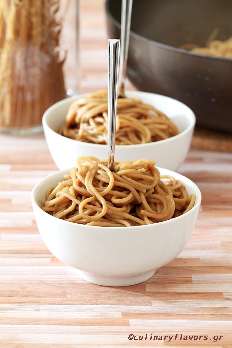 Peanut Butter Spaghetti