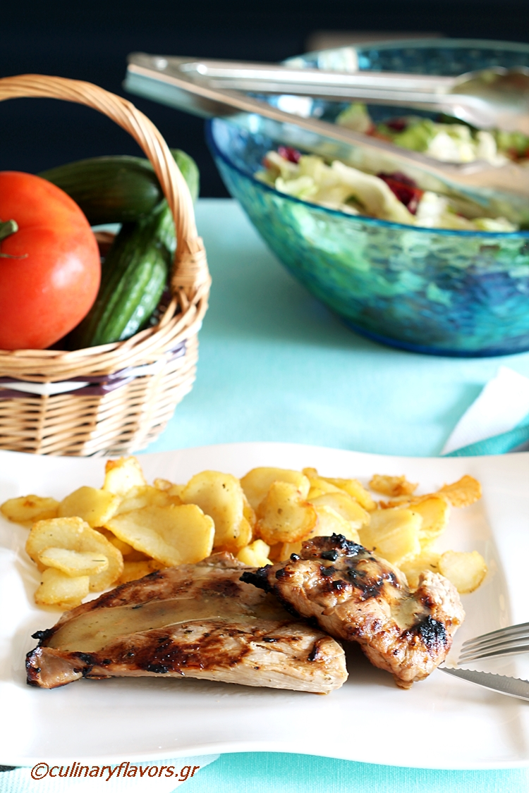 Lemon Marinated Pork Tenderloin