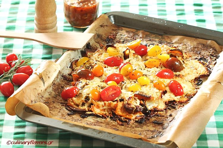 Mediterranean Potato Nachos