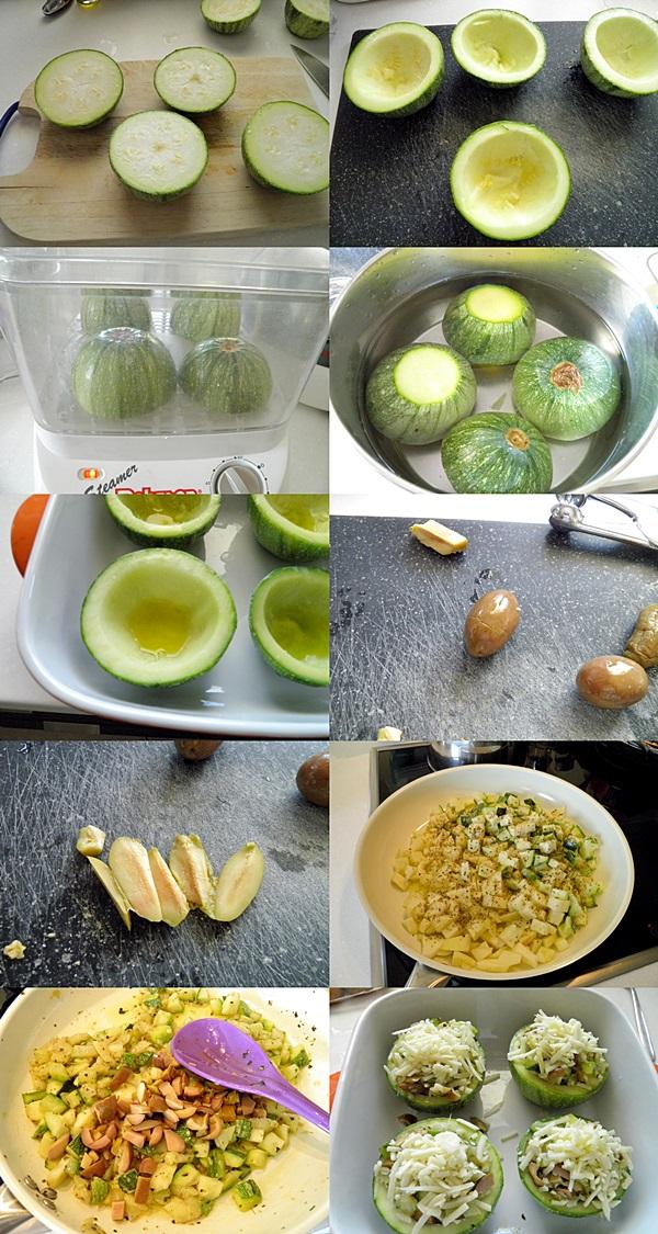 Zucchini Baskets