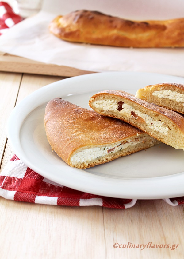 Calzone with Feta