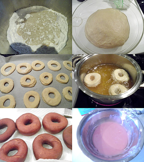 Sweet Bread Donuts
