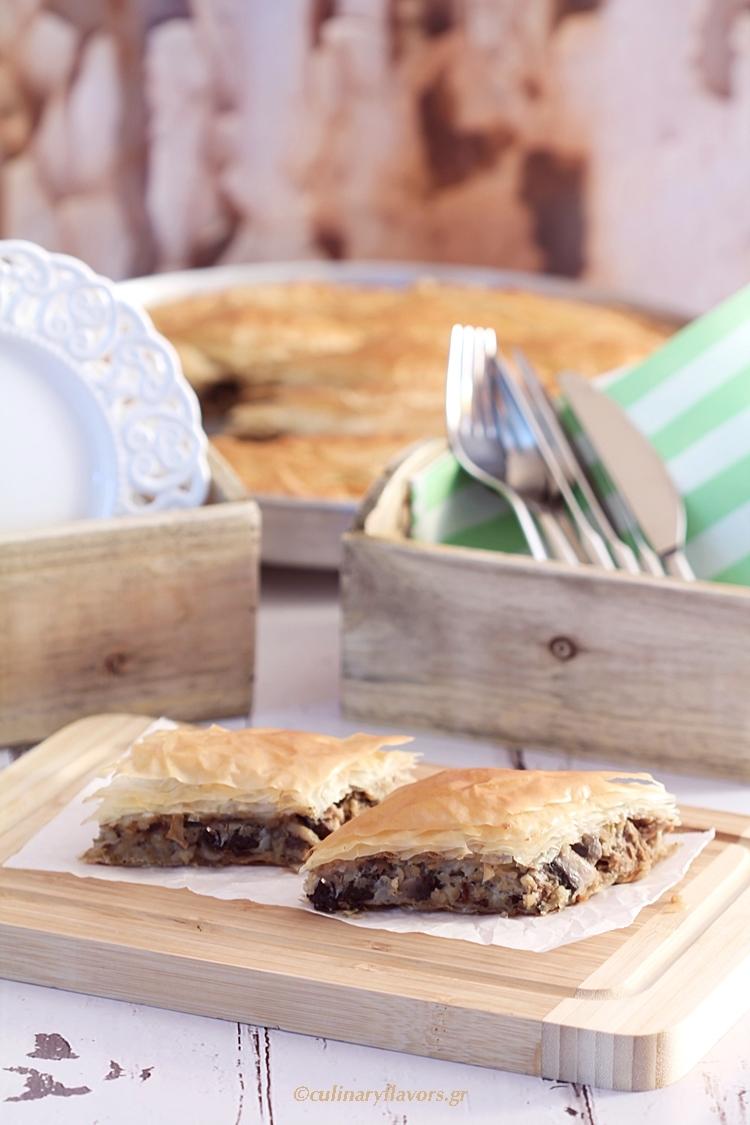 Four Types Mushroom Pie