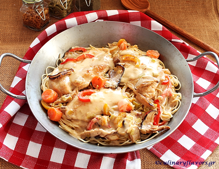Creamy Chicken with Leeks