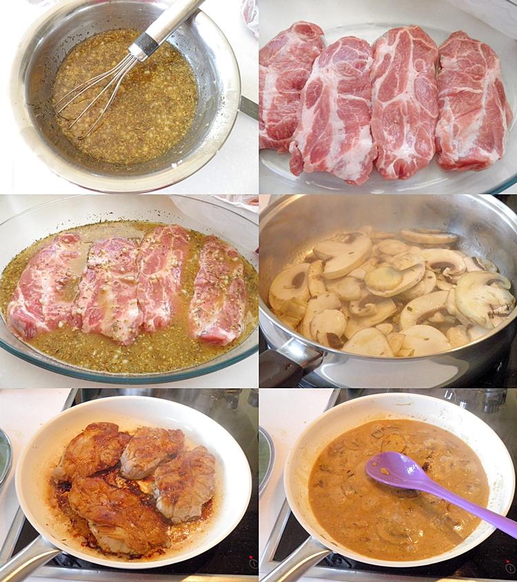 Lemon Tea Braised Pork Chops