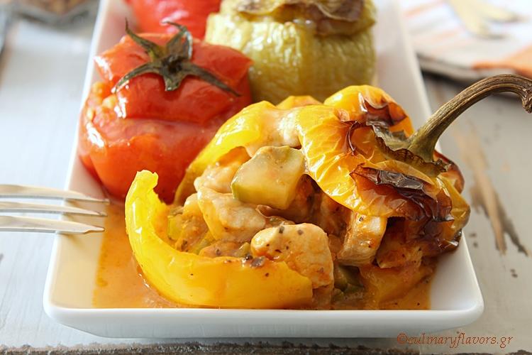 Chicken Stuffed Peppers