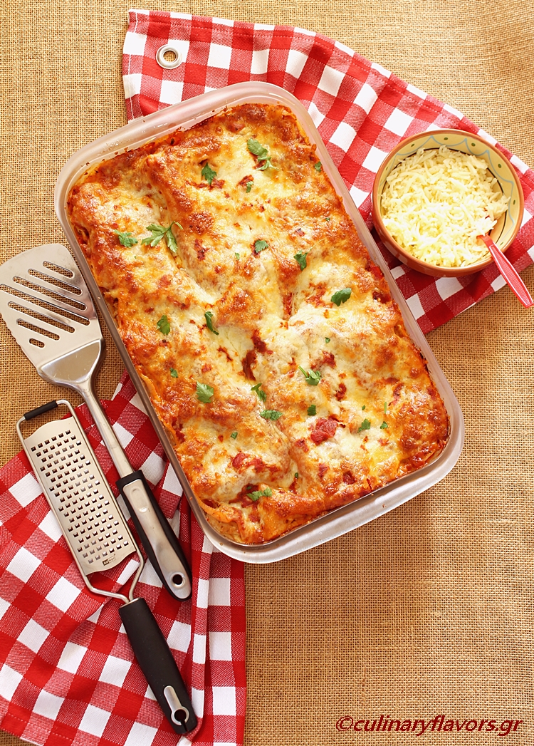 Lasagna with Chicken and Sun Dried Tomatoes