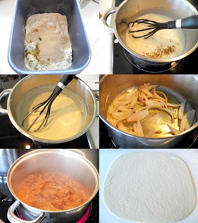Pastitsio Bread Rolls