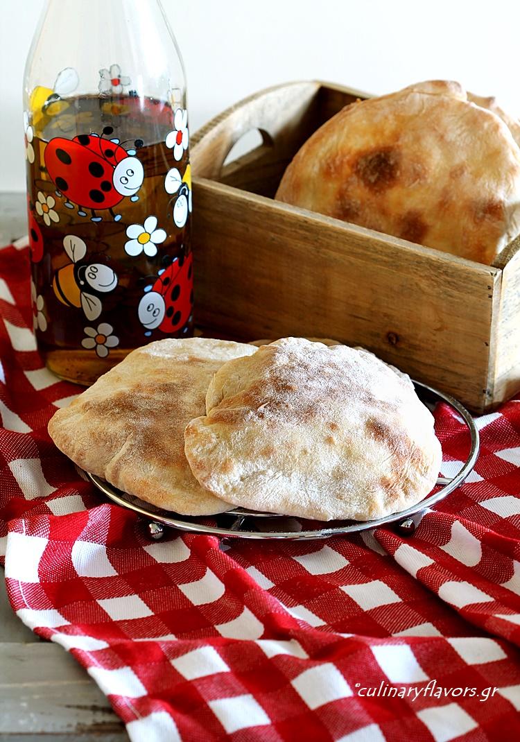 Spelt Flour Pitas